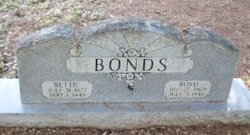 "Frances Elizabeth ""Bettie"" <I>Staggers</I> Bonds"