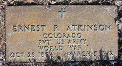 Ernest R Atkinson