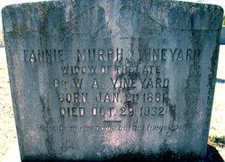 Fannie <I>Murph</I> Vineyard