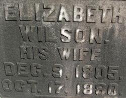 Elizabeth <I>Whitten</I> Wilson
