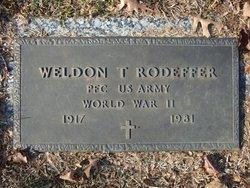 Weldon Thomas Rodeffer