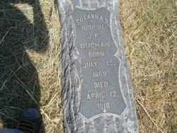 Susannah <I>Davenport</I> Buchan