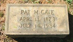 Pat McCrae Cave