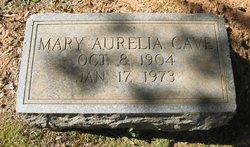Mary Aurelia Cave