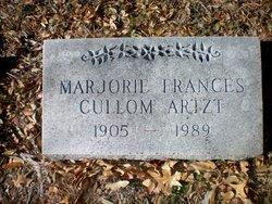 Marjorie Frances <I>Cullom</I> Artzt