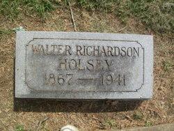 Walter Richardson Holsey
