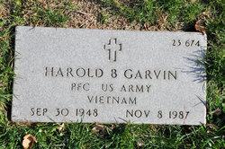 Harold B Garvin