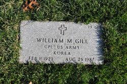 William M Gill
