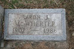 """Aaron James """"Buck"""" McWherter"""