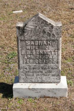 Sabrah <I>Simmons</I> Bennett