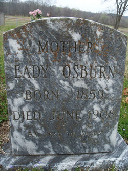 "Edith Catherine ""Eady"" <I>Walkup</I> Osburn"