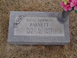 Rosie Lea <I>Harmon</I> Barnett