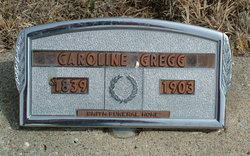 Caroline <I>McKinley</I> Gregg