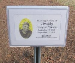 Timothy Wayne Clasen