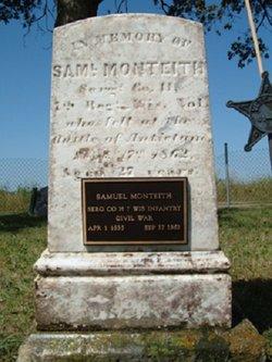 Sgt Samuel Monteith