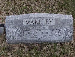 Harold Elmer Wakeley, Sr