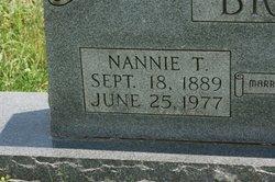 """Nancy """"Nannie"""" <I>Tollett</I> Brown"""