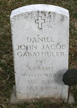 Daniel John Jacob Gabathuler