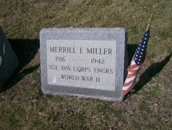 Sgt Merrill F Miller