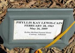 Phyllis Kay <I>Lewis</I> Cain