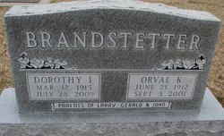 Dorothy I. <I>Dempster</I> Brandstetter