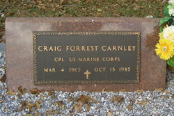 CPL Craig Forrest Carnley