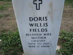 Doris <I>Willis</I> Fields