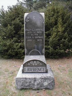 Julia A. <I>Shipman</I> Lawrence