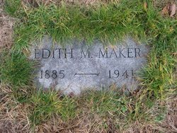Edith M <I>Snow</I> Maker