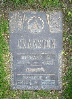 Gaylene G. <I>Johnston</I> Cranston