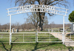 Proctor-Sanders Community Cemetery