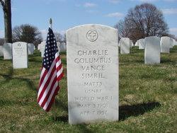 Charlie Columbus Vance Simril