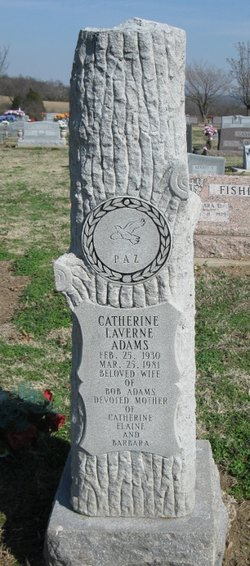 Catherine LaVerne <I>James</I> Adams
