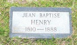 "Jean Baptiste ""J.B."" Henry"