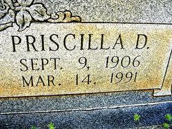 """Priscilla """"Cilla"""" <I>Davis</I> Johnson"""