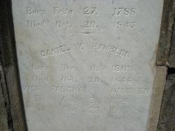 Daniel Y Hamblen