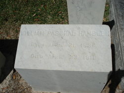 "Judge William Paschal ""W P"" Hamblen"