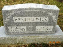 William A Akstulewicz