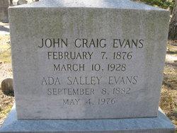 Ada <I>Salley</I> Evans