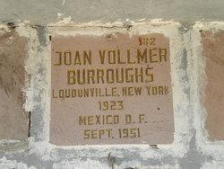 Joan <I>Vollmer</I> Burroughs