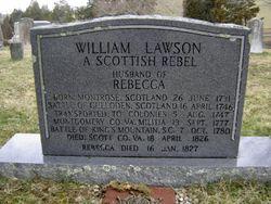 """William """"Our Scottish Immigrant"""" Lawson"""