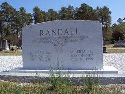 Mattie Roberta <I>Tyler</I> Randall