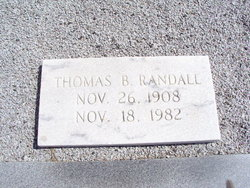 Thomas B Randall