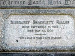 Margaret Rector <I>Shacklett</I> Roller