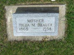 Hilda M <I>Kruger</I> Brauer