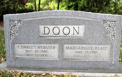 Charles Webster Doon