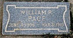William R Pace