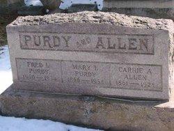 Carrie Adell <I>Tuttle</I> Allen