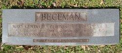 Mary Marjorie <I>Gentry</I> Begeman