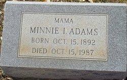 Minnie I Adams